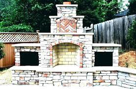 pre fab outdoor fireplace ricated modular outdoor fireplace kits uk