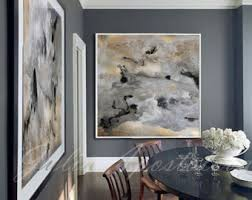 quick view on large white and gold wall art with large wall art etsy