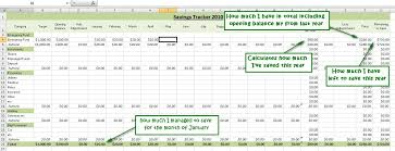 savings excel spreadsheet how to track your savings with spreadsheets an excel tutorial