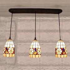 multi light pendant lighting. Teardrop Shade Shell Made Tiffany Three-light Multi-light Pendant Lighting Multi Light T