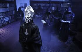 papa emeritus and the nameless ghouls. photo wallpaper metal, doom, heavy, ghost, band, swedish, papa emeritus and the nameless ghouls
