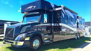 extreme rv 45 foot super c garage unit renegade trailer