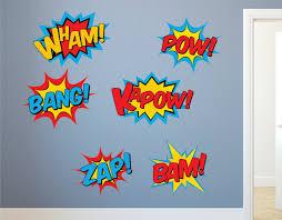 super hero wall perfect superhero wall decals
