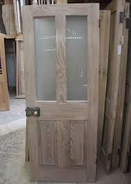 half glazed interior pitch pine door