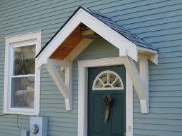 front door awning design porch patio door overhang