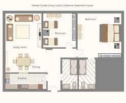 Living Room Furniture Layout Bird Eye  Contemporary Living Room - Bedroom and living room furniture