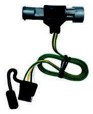ford trailer plug 1987 1997 ford f 150 250 350 trailer hitch wiring kit harness plug