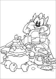 Baby Looney Tunes Målarbilder För Barn Teckningar Online Till Skriv