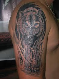 тюремное наколка волка на плече татуировка волка значение на зоне