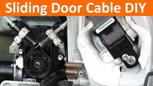 replace automatic sliding door cable in 3rd generation honda odyssey