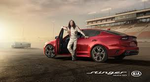 steven tyler hits the racetrack in kia s super bowl ad for the all new stinger