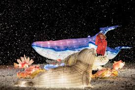 in addition to the ocean of light display you can experience the winter wonderland the north pole and the celebrating china areas where chinese