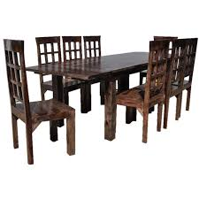 Rustic Dining Table And Chair Sets Sierra Living Concepts - Rustic chairs for dining room