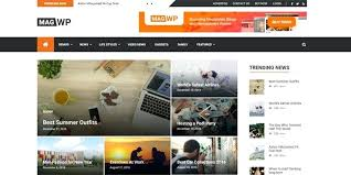 Newspaper Web Template Free Newspaper Template Online Mag Free News Website Themes