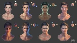 Face Lighting Reference Crystal Rain Lighting References For Face
