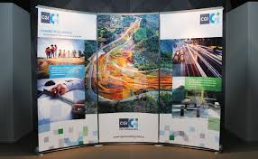Trade Show Booth Design Ideas cgi consulting banner stand display