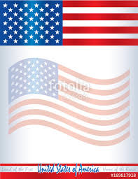 United States Of America Flag Poster, Invitation, Flyer Template ...