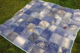 36 Denim or Jean Quilt Patterns | Guide Patterns & Old Jeans Quilt Adamdwight.com