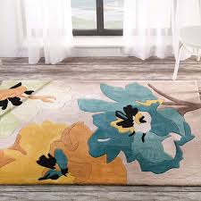 sweet teal and yellow area rug 36