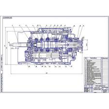 Дипломная работа на тему Разработка КПП автомобиля ВАЗ для  16 ти ступенчатая КПП на автомобиль категории n3
