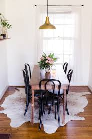 A Tiny and Charming Cottage in Nashville, TN | Design*Sponge | Brass  Factory  Rugs For Dining RoomSmall Dining Table ...