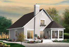 vacation house plan front of home 032d 0818 house planore