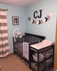 baby boy nursery gray blue black babies