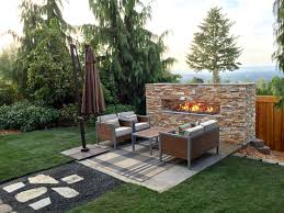 outdoor gas fireplace portland or