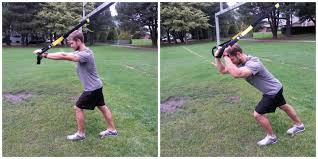 exercise one trx tricep extensions