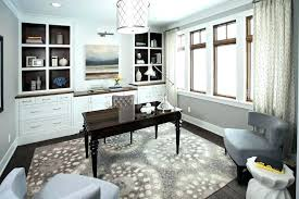 home office rugs office area rugs concrete office interior home office transitional with graphic area rug