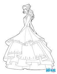 Coloriage Princesse La Belle Et La Bete L L