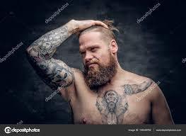 Muž Býk Tetování Na Hrudi Stock Fotografie Fxquadro 134349762