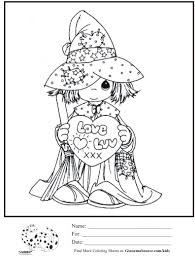 Coloring Download. Precious Moments Halloween Coloring Pages ...
