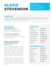 About Me In Resume The Alexis Creative Resume Resume Shoppe 94