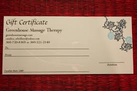 massage gift certificate template massage gift certificate template blissful massage