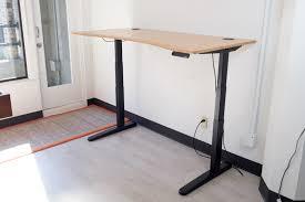 full shot of jarvis standing desk