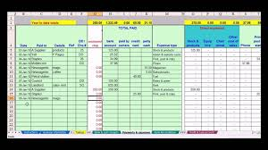 Simple Bookkeeping Examplesll Spreadsheet For Small Business ...