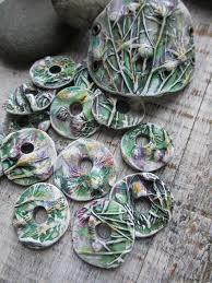 Бусины с растительным орнаментом своими руками   Трости из ...