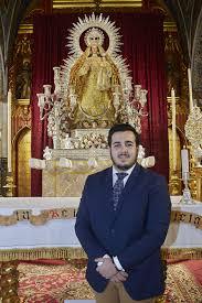 """Iván Oliver López: """"En el pregón hablará más mi corazón que yo"""" - Hermandad  Sacramental de Santiago Apóstol - Castilleja de la Cuesta"""