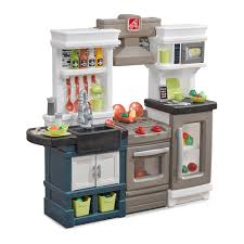 Toy Kitchen With Lights And Sound Step2 Modern Metro Kitchen Modern Play Kitchen Toy Accessories Set Kids Kitchen Playset With Real Lights Sounds