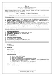 Current Resume Format It Resume Cover Letter Sample