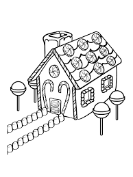 Small Picture Gingerbread house coloring pages printable free ColoringStar