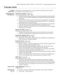 Customer Service Representative Resume Objective     Duums com