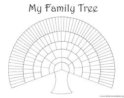 4 generation family tree template huge for kids to print and color printable extended thinking map palm free editable