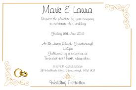 What To Say On Evening Wedding Invitations