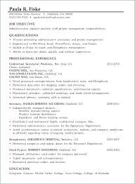 Project Manager Resume Objectives Best of Project Manager Resume Template Resume Example Resume Sample