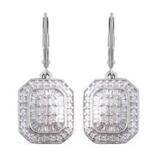<b>Diamond Earrings</b> - Stud, Drop, Hoop Earrings for Women in UK - TJC