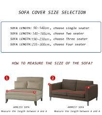 long elastic sofa covers for living