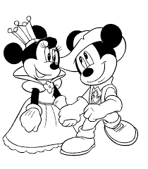 Small Picture mickey minnie pictures Free Printable Minnie Mouse Coloring
