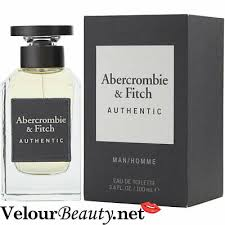 <b>ABERCROMBIE</b> & <b>FITCH AUTHENTIC</b> MAN EAU DE TOILETTE 3.4 ...